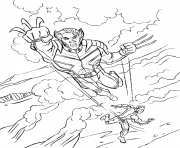 coloring pages for kids wolverine x men70af