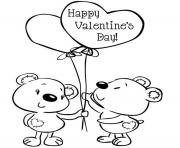 kids valentine s66ad coloring pages