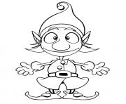 Print christmas elf s for kids91de coloring pages