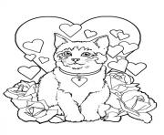 Print pretty s for kids cat56b8 coloring pages