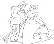 Print princess prince dancing with cinderella s for kids351f coloring pages