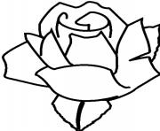 Print rose s for kids7990 coloring pages