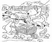 Print for kids rabbit winnie poohcd56 coloring pages