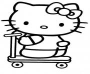 Print kids hello kitty s3fa0 coloring pages