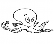 kids octopus f172 coloring pages