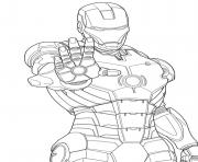 Print iron man s kids1858 coloring pages