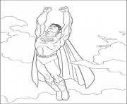 Print flying superman s kids printable0cf5 coloring pages