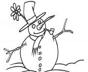Print snowman s for kids1f49 coloring pages
