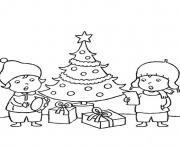 Print free s christmas kids0542 coloring pages