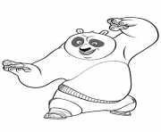 coloring pages for kids kung fu panda poa5bb