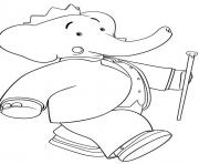 Print cartoon s for kids king babar6f2c coloring pages