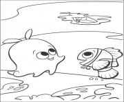 coloring pages for kids nemo friend0669
