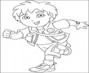 Print cartoon diego s for kids080f coloring pages