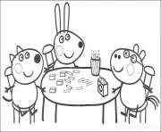 Print kids peppa pig colouring pages kids printable9827 coloring pages