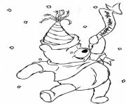 winnie the pooh s for kids new yearda41 coloring pages