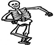 Print halloween s for kids skeleton5e9e coloring pages