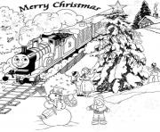 Print thomas the train winter s for kids99ed coloring pages