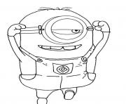 Print despicable me s minion for kids freedab4 coloring pages