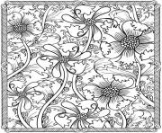 Print flower for kids and moms coloring pages