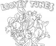 looney tunes colouring pages for kids0c4e