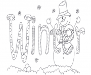 Print word of winter s for kidsa84d coloring pages
