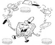 Printable coloring pages for kids spongebob krabby pattya93a coloring pages