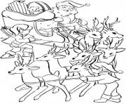 Print ready santa s for kids printableed5d coloring pages
