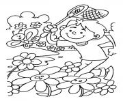 Print spring s for kidsa150 coloring pages