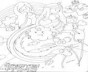 Print kids adventure time sdedb coloring pages