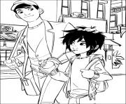 Printable big hero 6 01 coloring pages