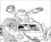 Printable big hero 6 24 coloring pages