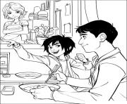 Printable big hero 6 02 coloring pages
