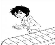 Printable big hero 6 13 coloring pages