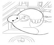 Printable big hero 6 coloring pages