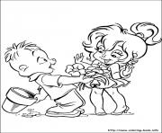 alvin chipmunks 03 coloring pages