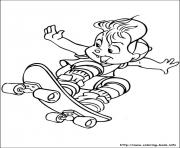 Printable alvin chipmunks 02 coloring pages