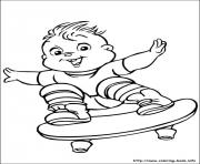 alvin chipmunks 06 coloring pages