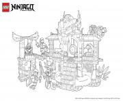 Printable ninjago lego palace coloring pages