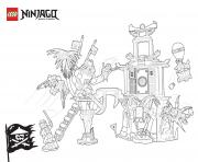 world of ninjago and lego  coloring pages