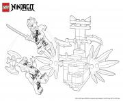 Battle Ninjas Lego Coloring Pages