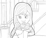 Printable riley anderson inside out coloring pages