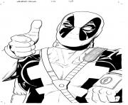 deadpool 21 coloring pages