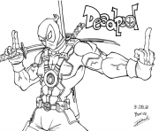 deadpool fuck you coloring pages