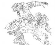 Print Halo 3 Odst coloring pages