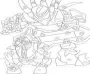 Printable Halo 3 coloring pages