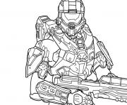Printable halo 5 free coloring pages