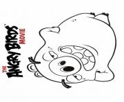 angry birds movie pig coloring pages