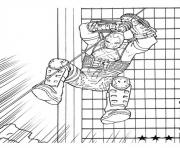 Printable captain america civil war 08 coloring pages