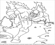 Printable superhero captain america 181 coloring pages