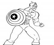 Printable superhero captain america 171 coloring pages